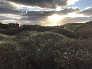 Sonnenuntergang in Blokhus